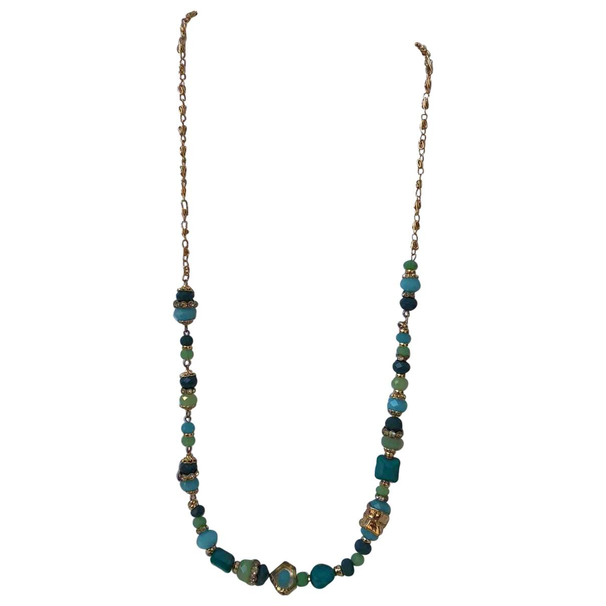 - Sautoir   pour femme en perles - turquoise