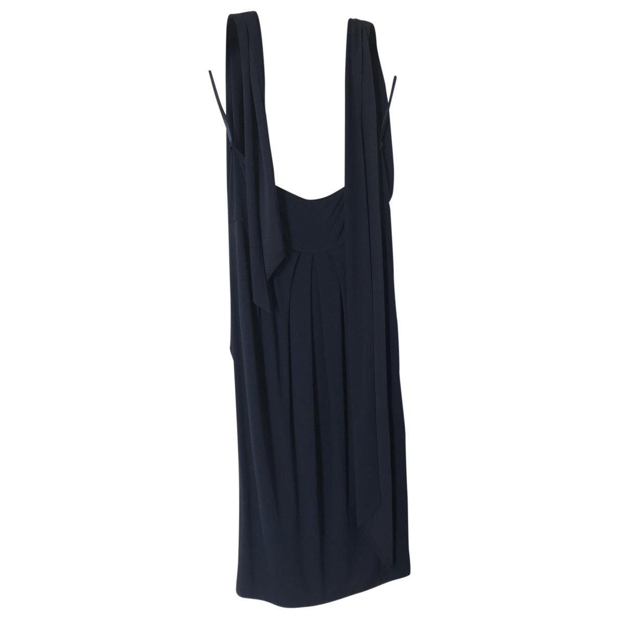 Donna Karan \N Kleid in  Blau Viskose