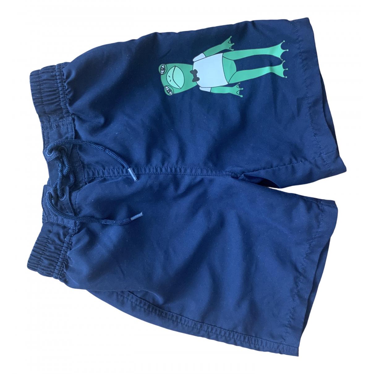 Pantalones en Poliester Azul Mini Rodini
