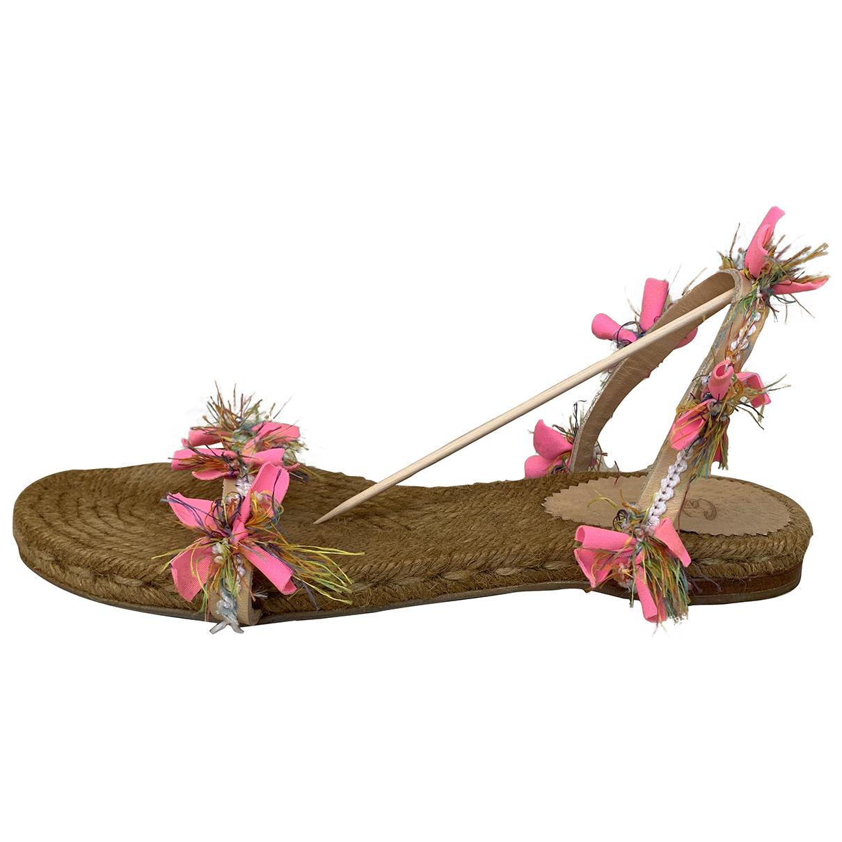 Castaner \N Multicolour Leather Sandals for Women 37 EU