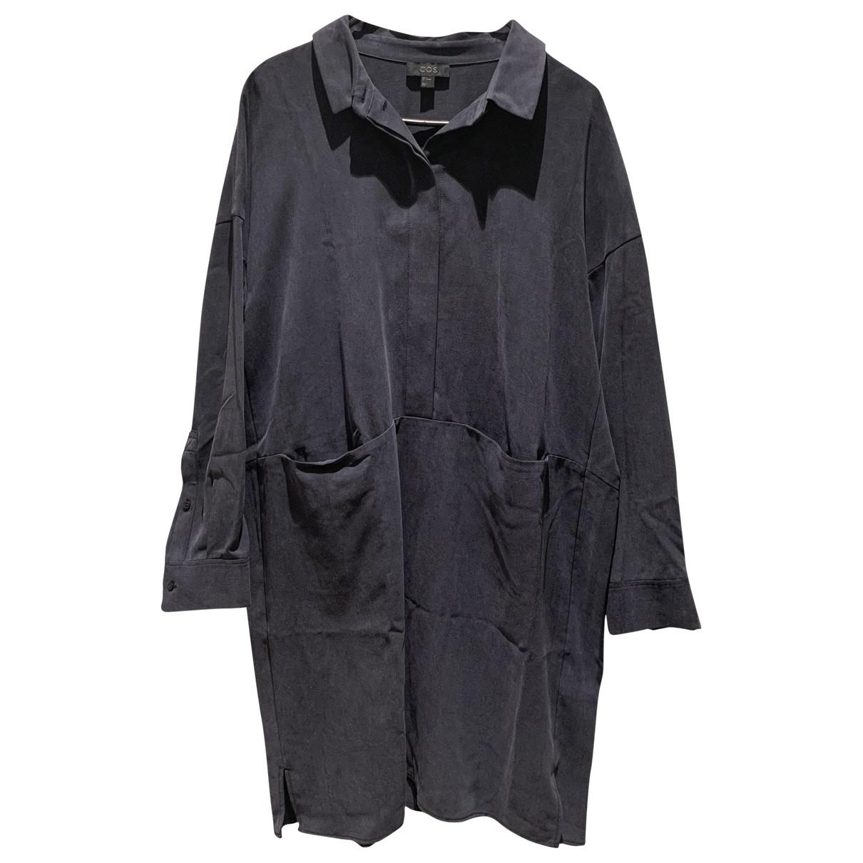 Cos \N Kleid in  Marine Baumwolle