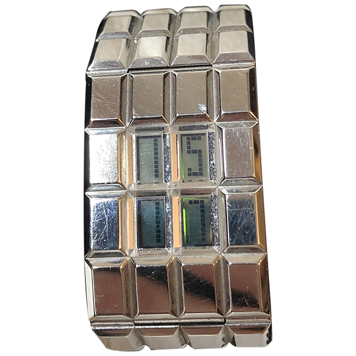 Chanel \N Silver Steel watch for Women \N