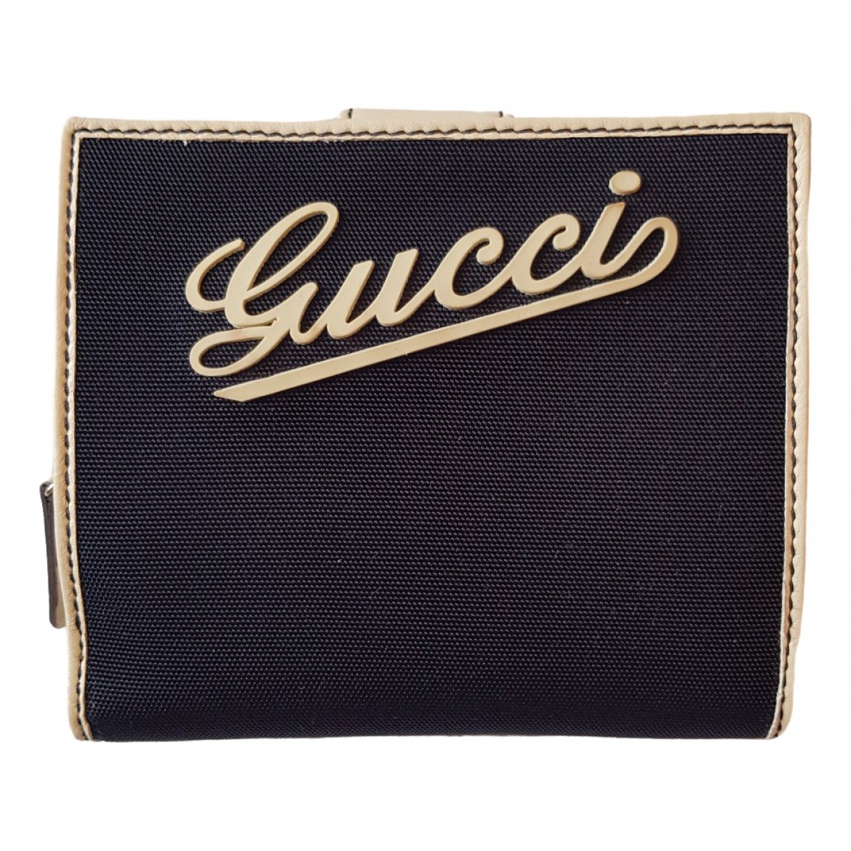 Gucci \N Blue Cloth wallet for Women \N