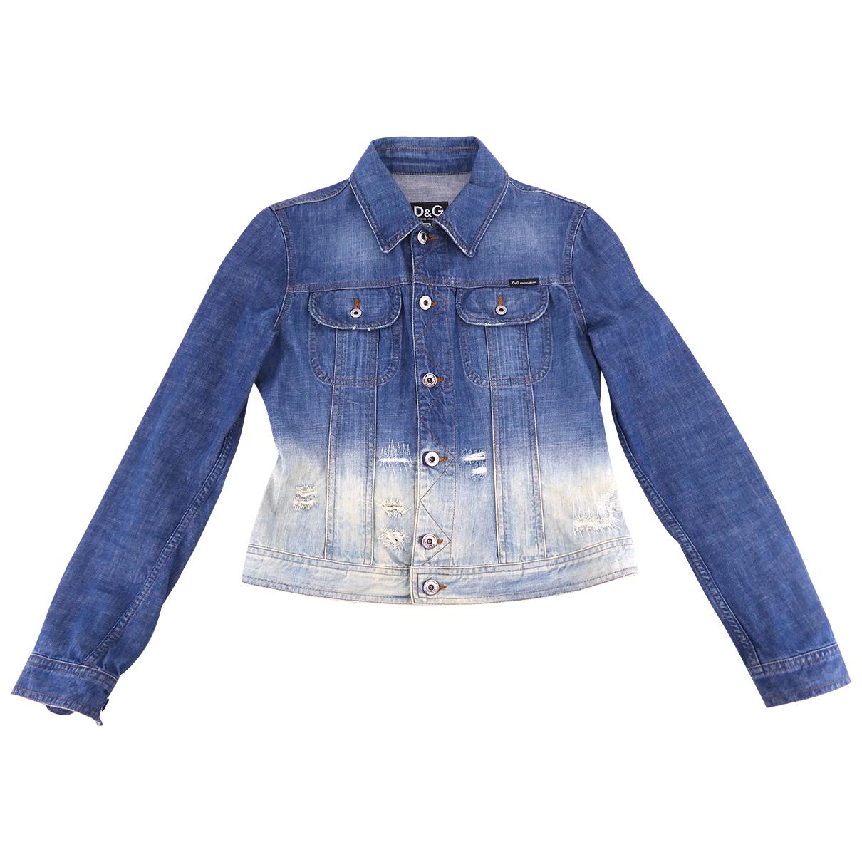 D&g \N Blue Denim - Jeans jacket for Women M International