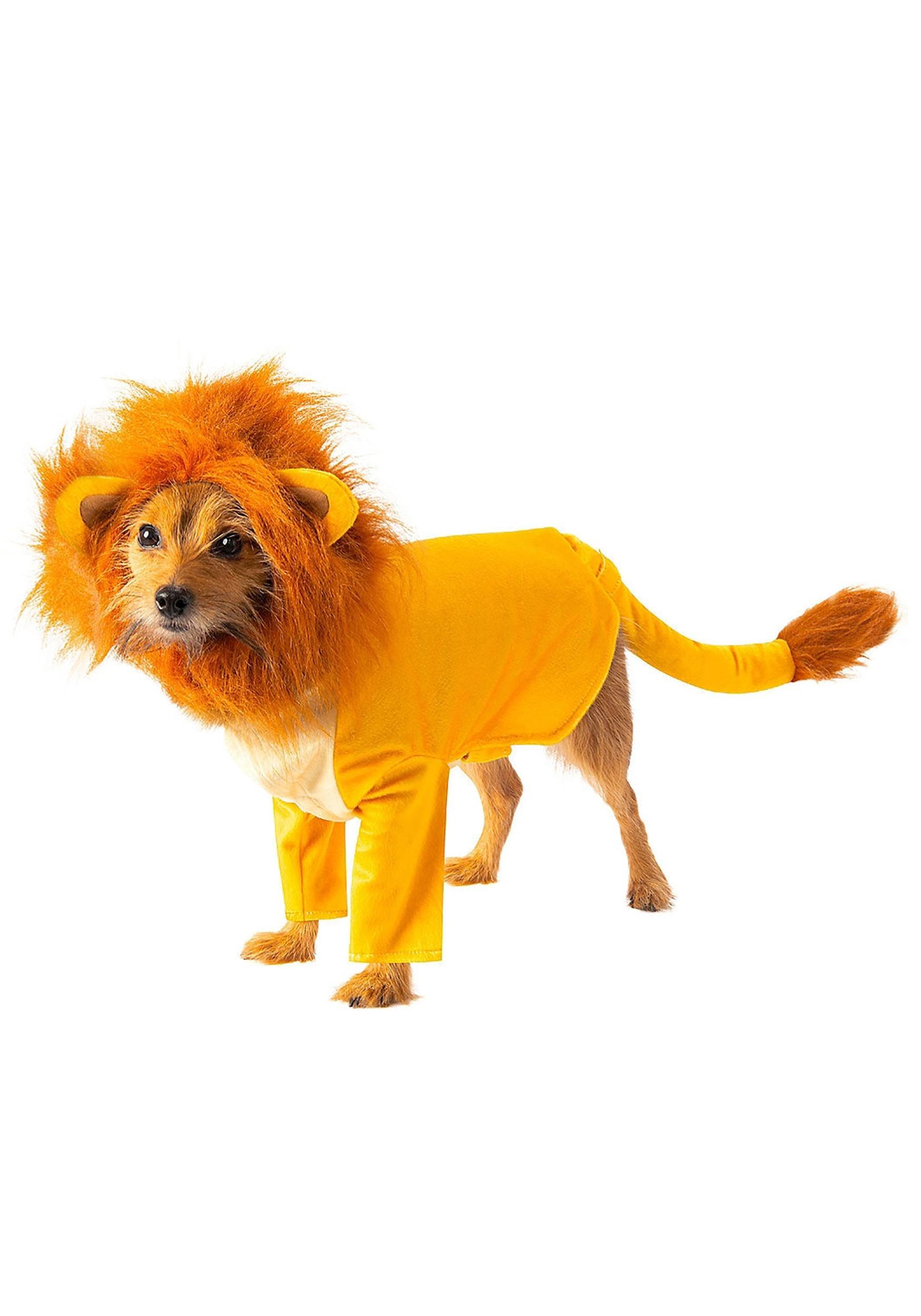 Simba Dog Costume The Lion King