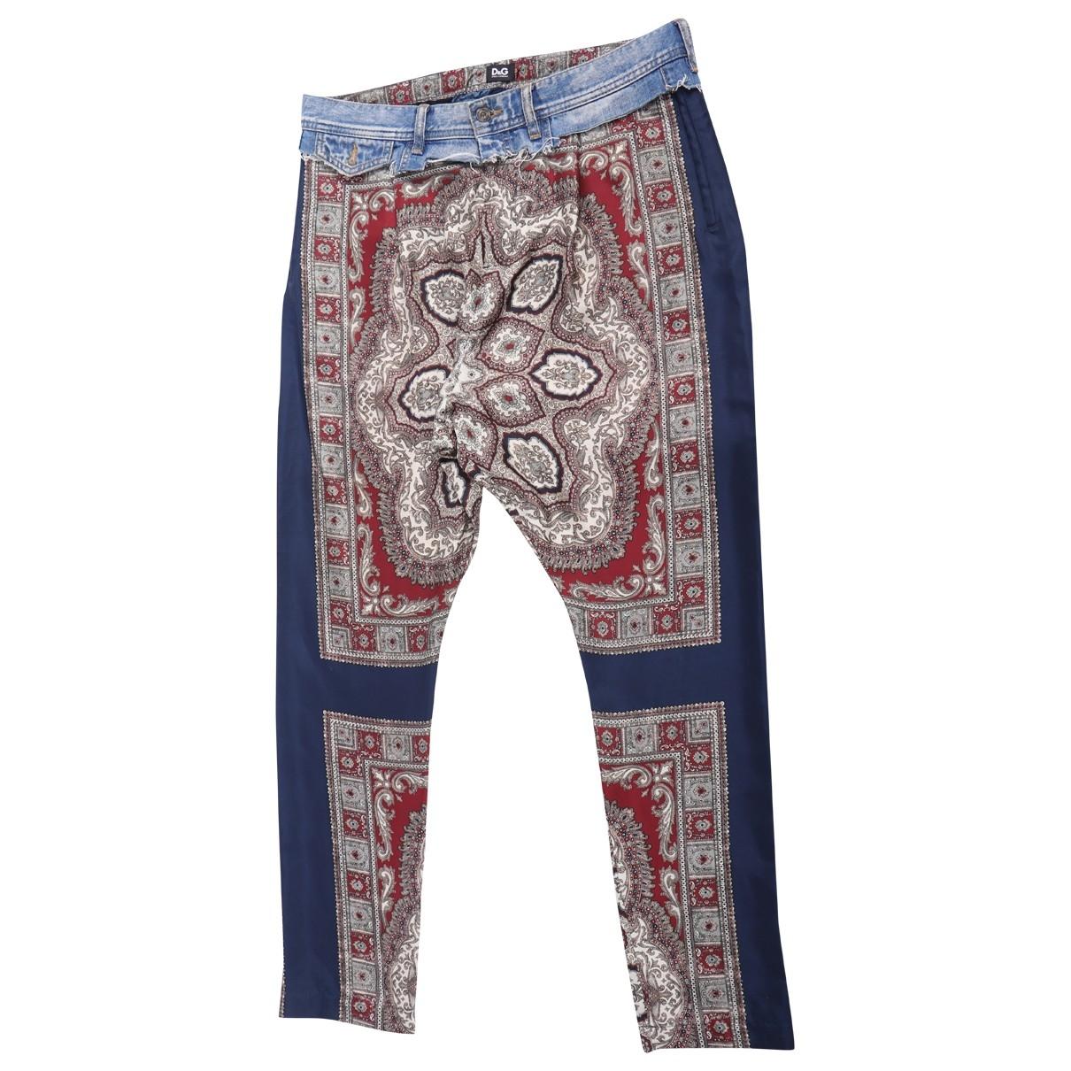 D&g \N Multicolour Cotton Jeans for Women 40 FR