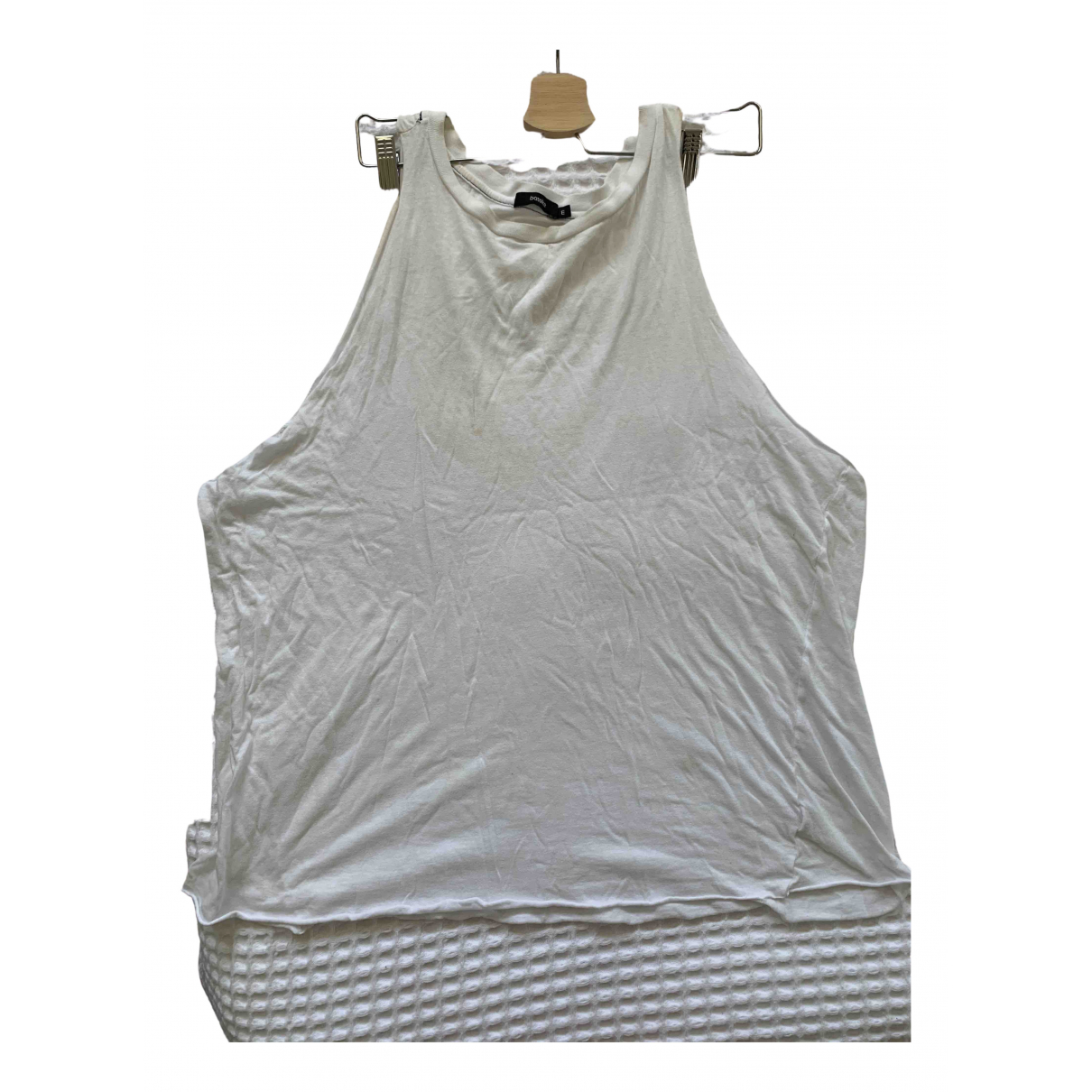 Bassike N White Cotton  top for Women M International