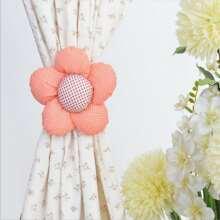1 pieza cuerda de cortina con diseño de flor