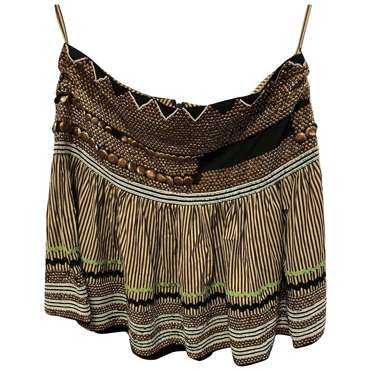 Etro - Jupe   pour femme en coton - elasthane - noir
