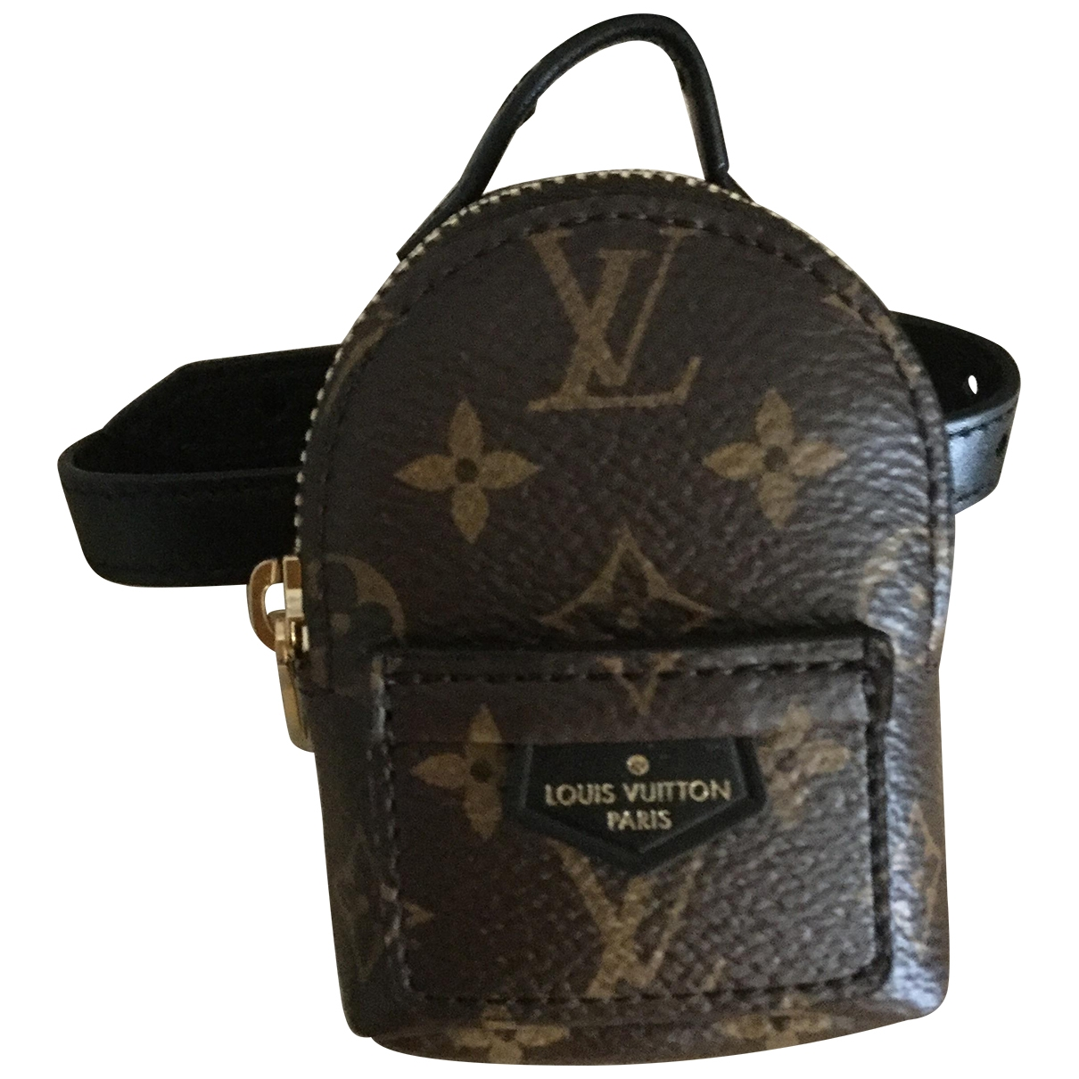 Louis Vuitton \N Armband in  Braun Leder
