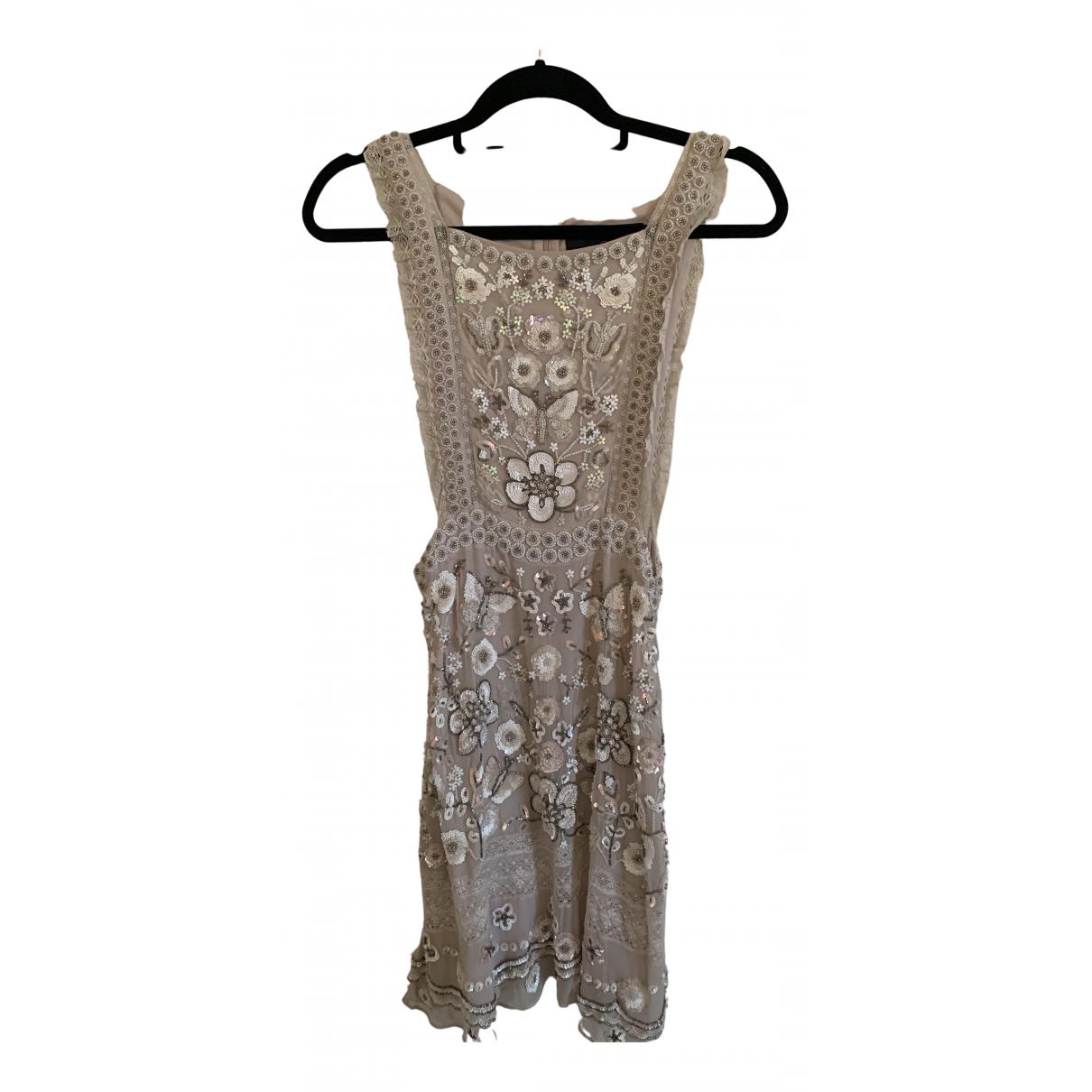 Mini vestido de Con lentejuelas Needle & Thread