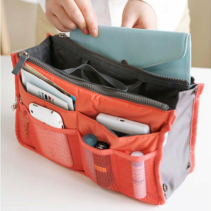 SaicleHome Home Large-capacity Travel Organizer Storage Bag Portable Cosmetic Bag Makeup Storage Case