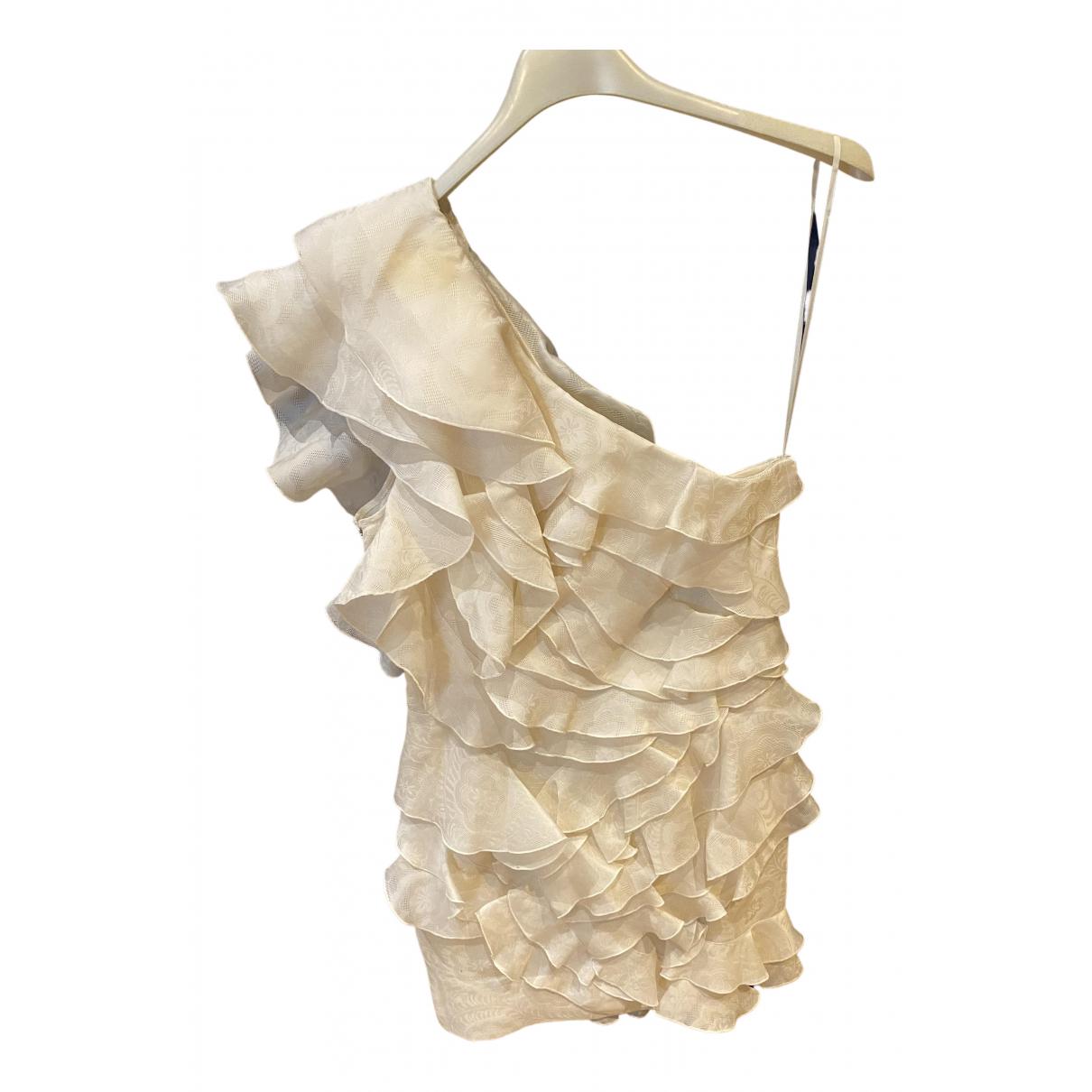 Isabel Marant \N White Silk dress for Women 40 FR