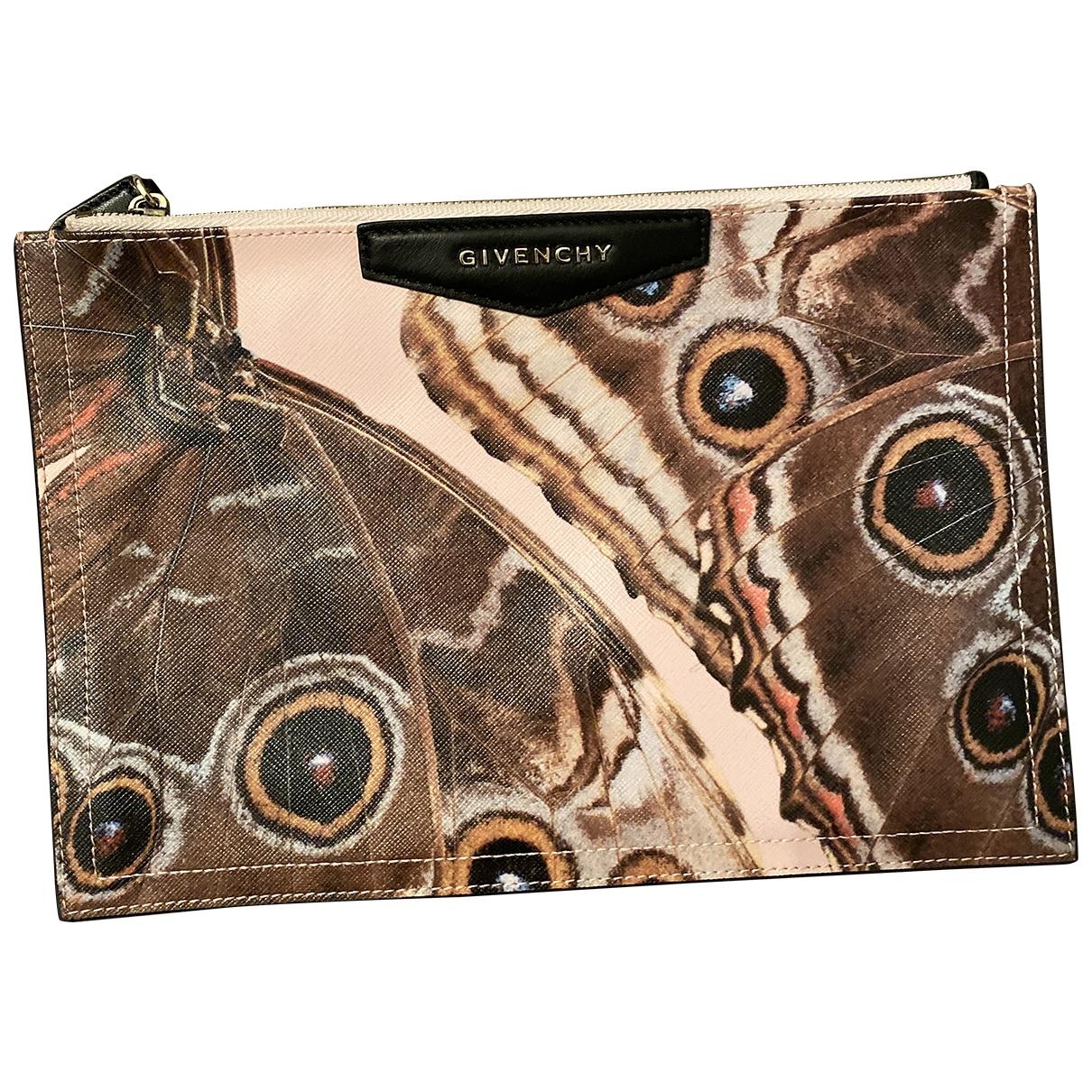 Bolsos clutch Antigona en Sintetico Multicolor Givenchy