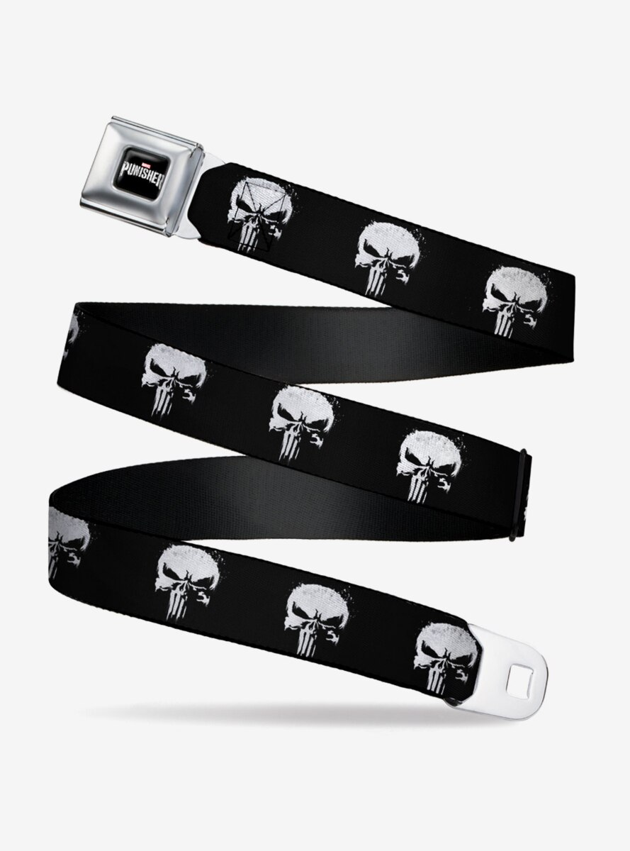 Marvel Punisher 2017 Series Seatbelt Belt