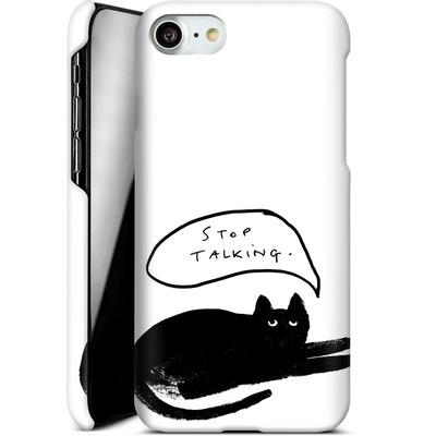 Apple iPhone 8 Smartphone Huelle - Stop Talking von caseable Designs