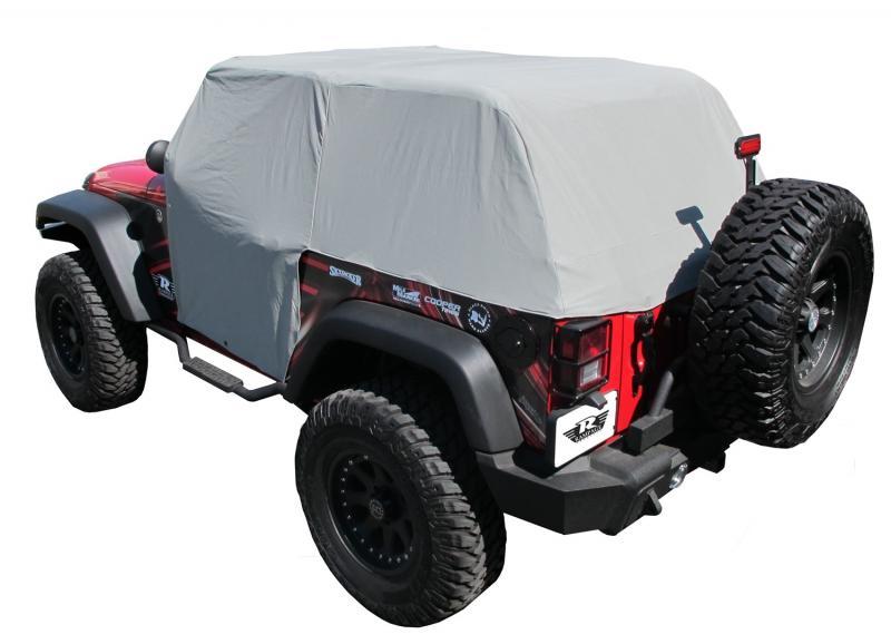 Rampage 1163 Cab Cover with door flaps, Waterproof Jeep Wrangler 2007-2017