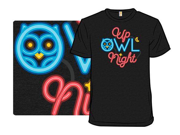 Up Owl Night T Shirt