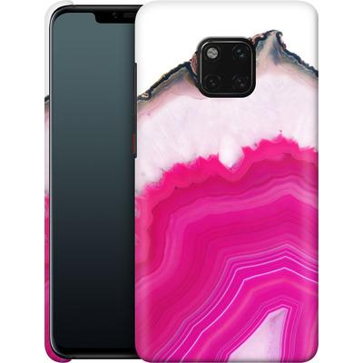 Huawei Mate 20 Pro Smartphone Huelle - Pink Agate Slice von Emanuela Carratoni
