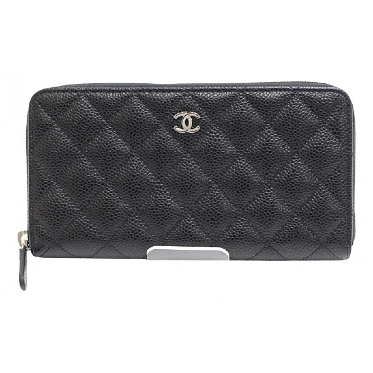 Chanel Timeless/Classique Black Leather wallet for Women N