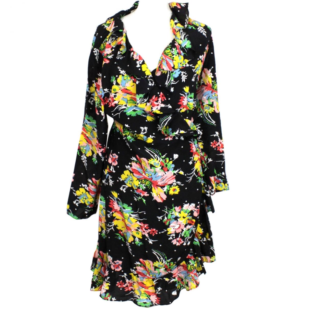 Rixo - Robe   pour femme en soie - noir