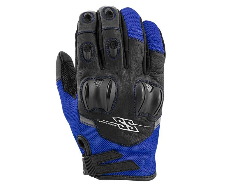 Speed and Strength 872255 Power Glory Gloves Blue LG