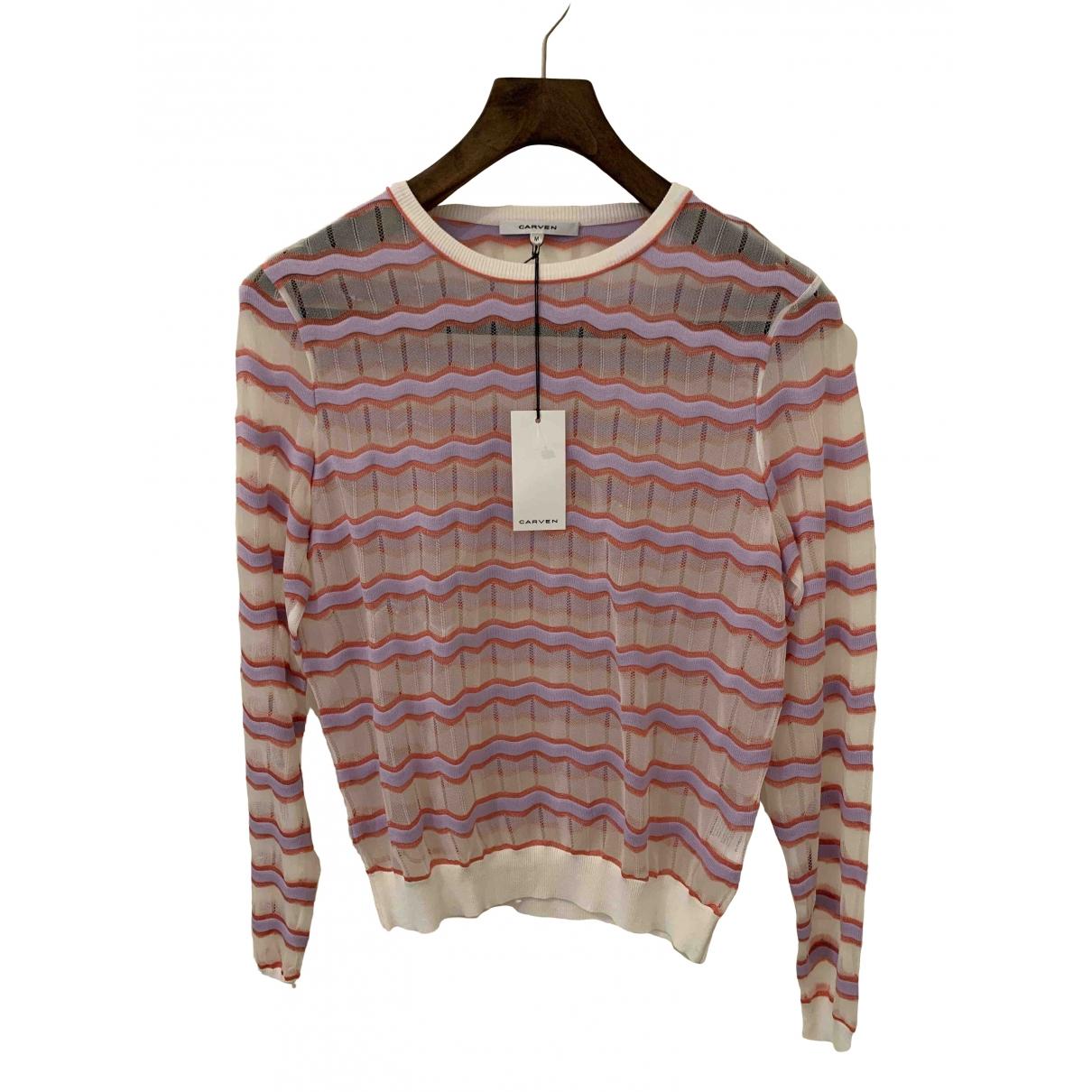 Carven \N Pullover in  Bunt Viskose