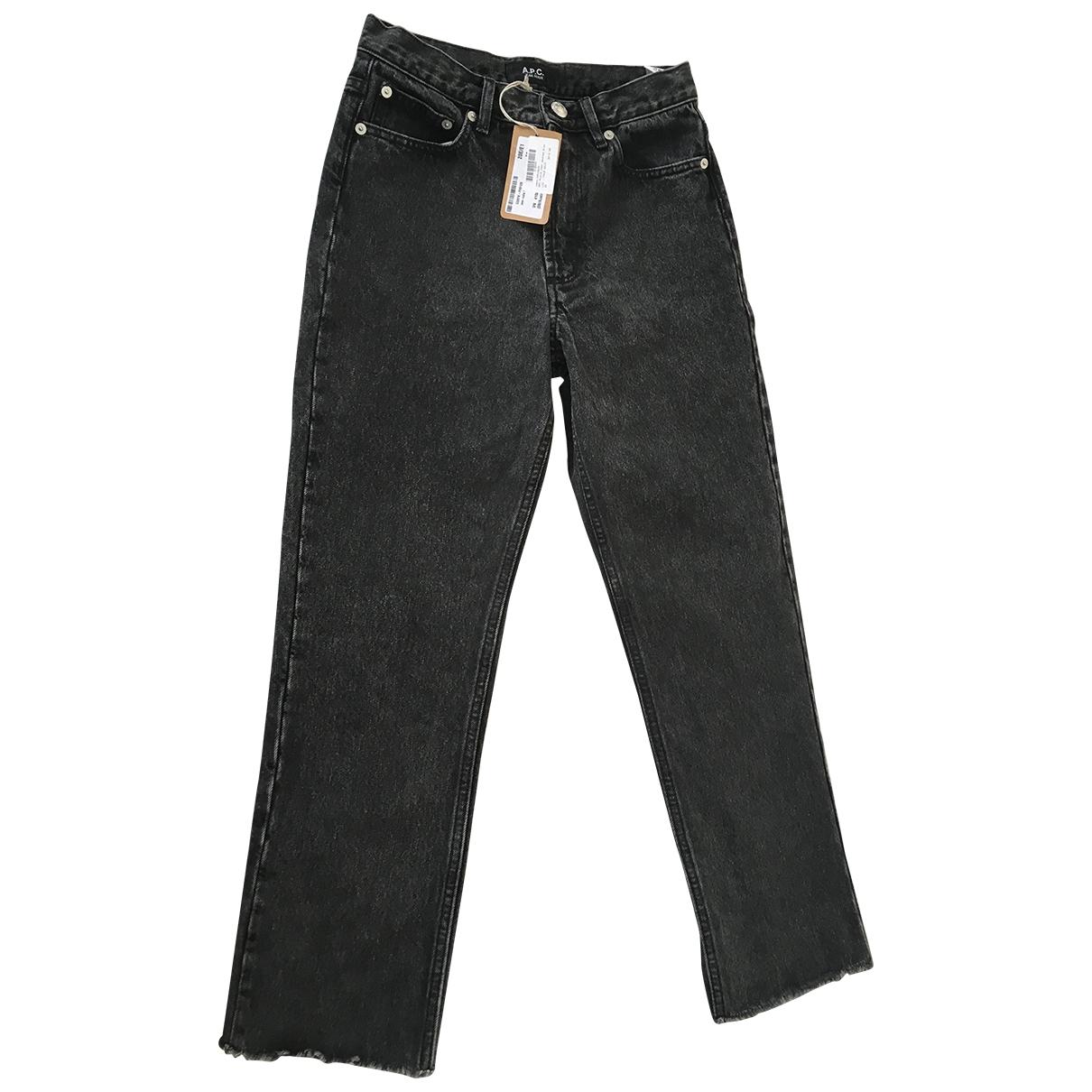 Apc \N Grey Denim - Jeans Jeans for Women 25 US