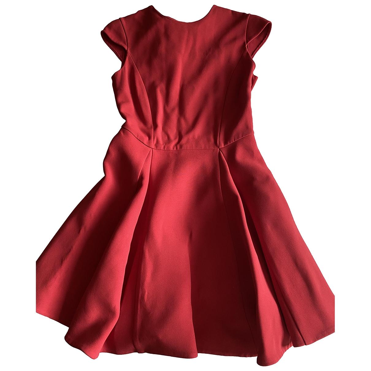 Miu Miu \N Kleid in  Rot Synthetik