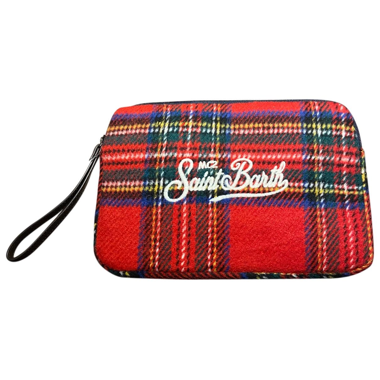 Mc2 Saint Barth - Lifestyle   pour femme en laine - rouge
