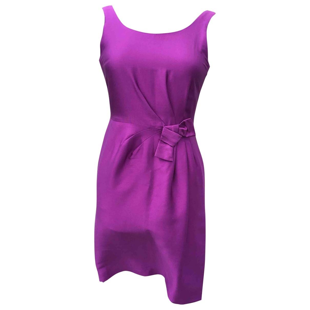 Hobbs \N Kleid in  Lila Seide