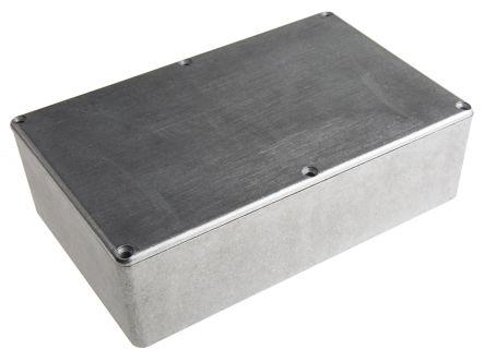 Hammond 1590, Die Cast Aluminium Enclosure, Shielded, 187.75 x 119.5 x 56mm