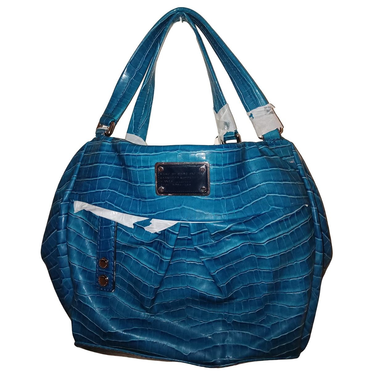 Marc By Marc Jacobs \N Turquoise Leather handbag for Women \N