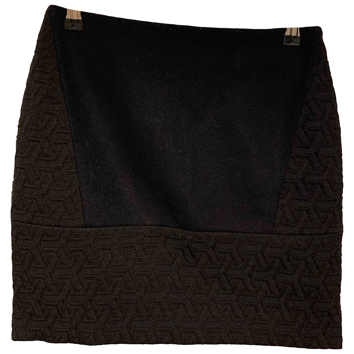 Sandro \N Black Cotton skirt for Women 6 UK