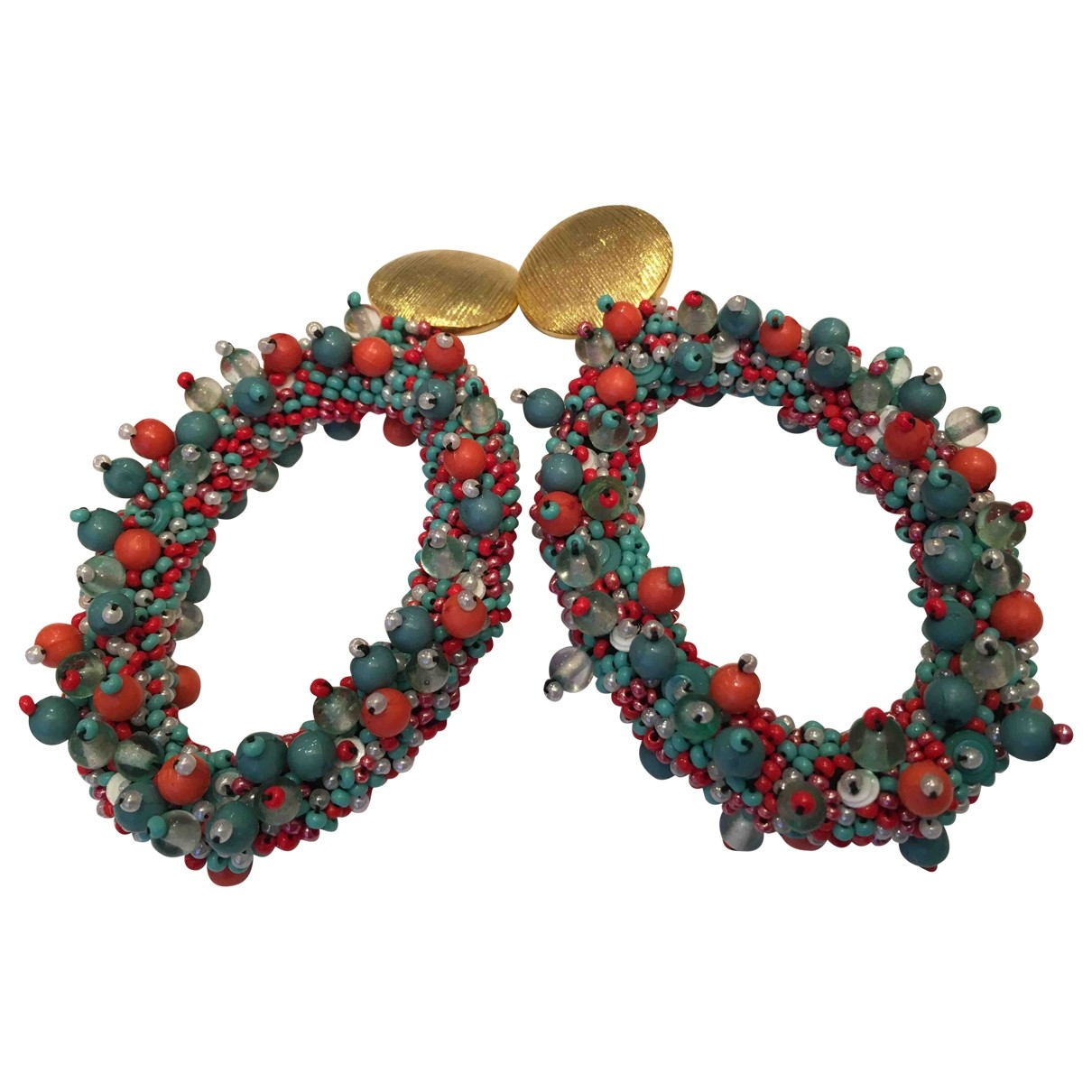 Carolina Herrera \N Multicolour Metal Earrings for Women \N