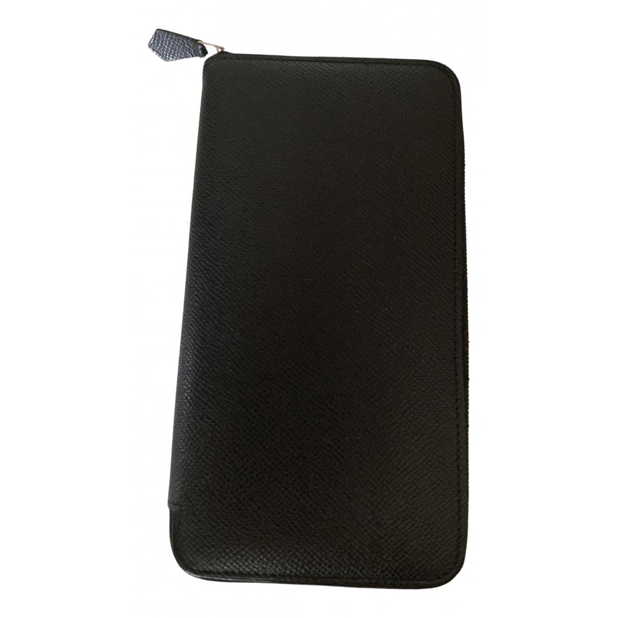 Hermès Azap Black Leather wallet for Women \N