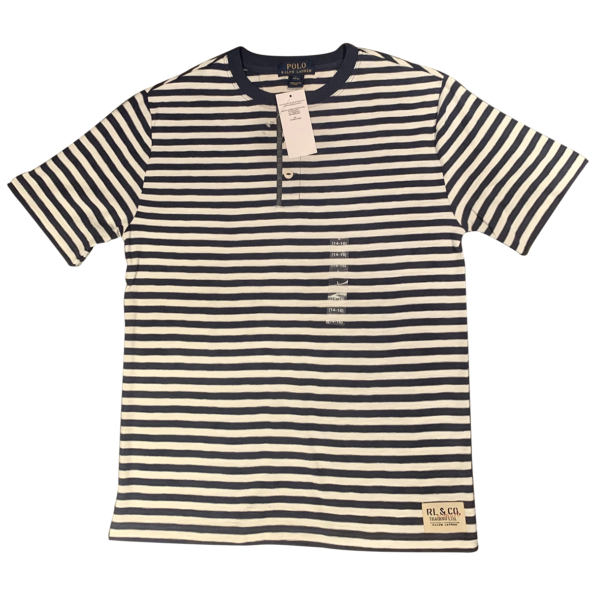 Polo Ralph Lauren \N Blue Cotton  top for Kids 16 years - M UK