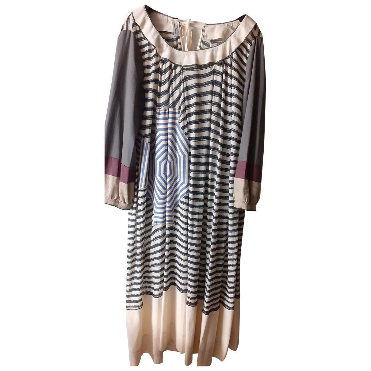Philosophy Di Alberta Ferretti \N Multicolour Cotton dress for Women 44 IT