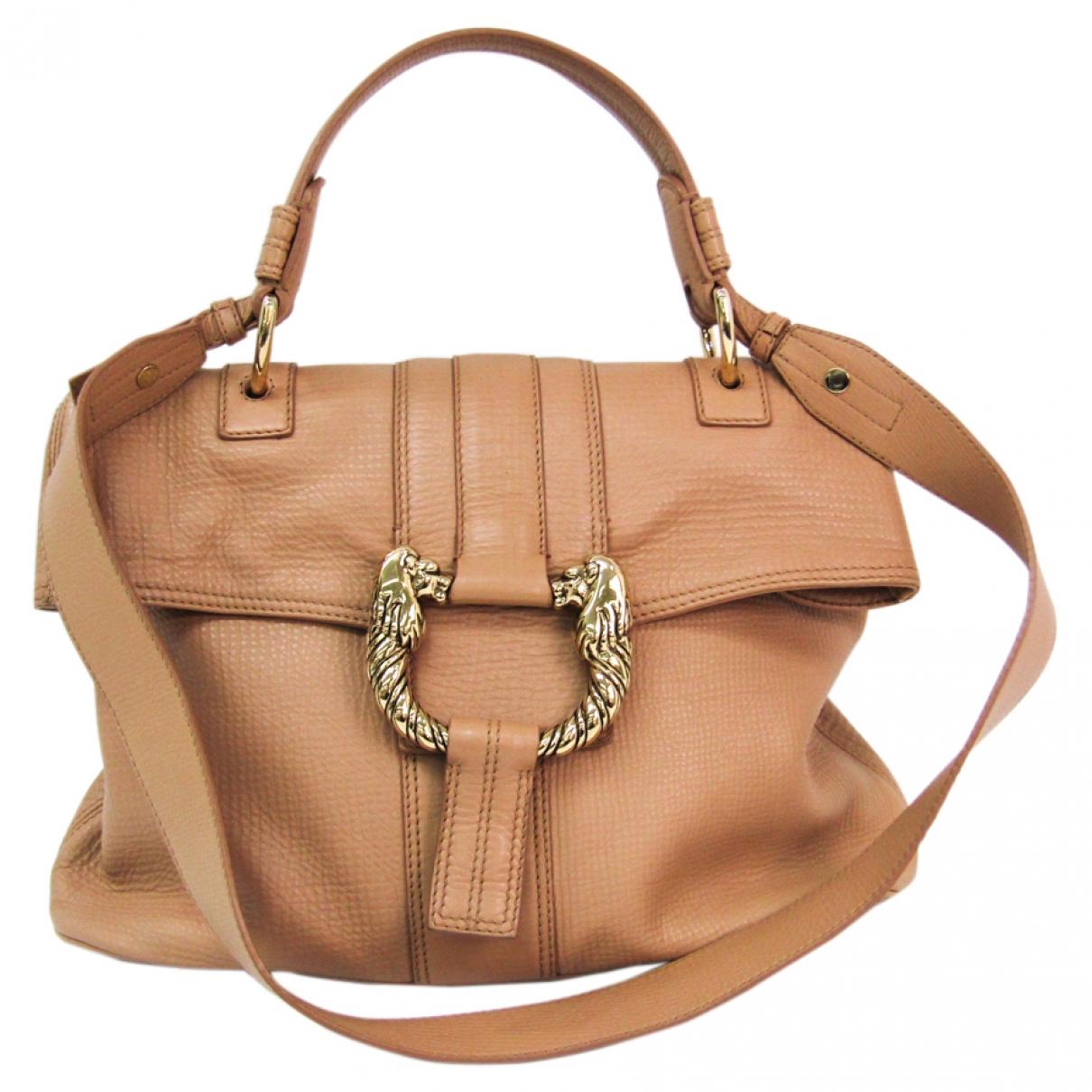 Bvlgari \N Pink Leather handbag for Women \N