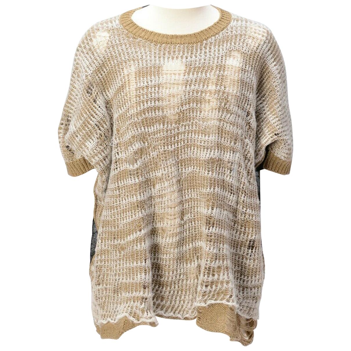 Junya Watanabe \N Pullover in  Beige Wolle