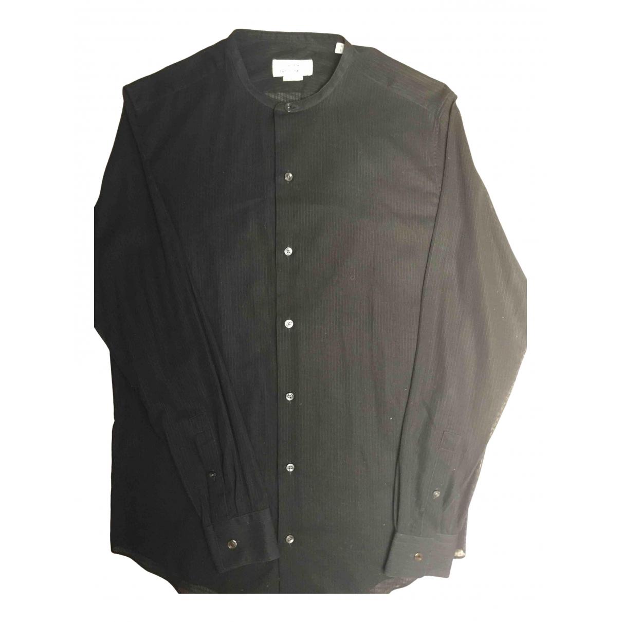Hermes \N Hemden in  Schwarz Baumwolle