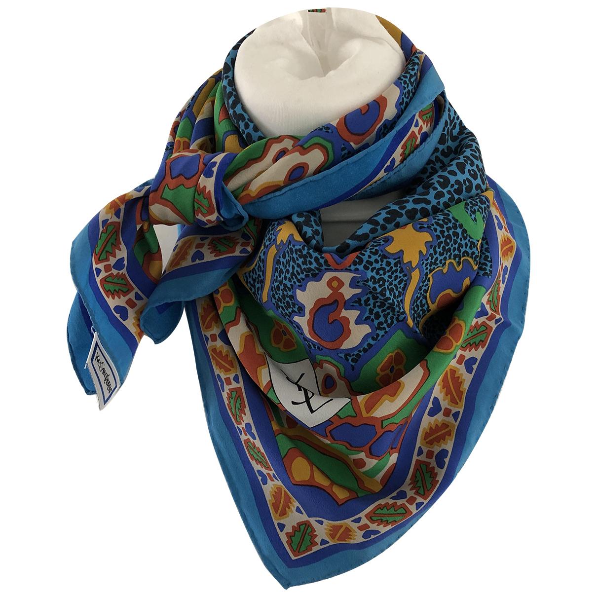 Yves Saint Laurent N Multicolour Silk scarf for Women N