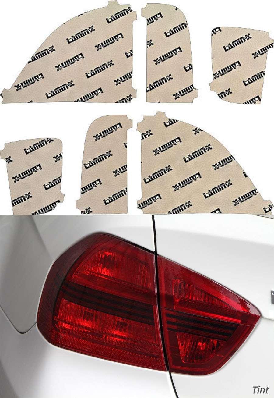 Lincoln LS 03-06 Tint Tail Light Covers Lamin-X LN201T