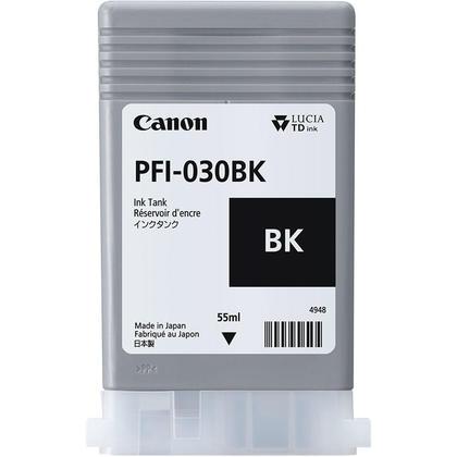 Canon PFI-030BK Black Ink Cartridge (3489C001AA)