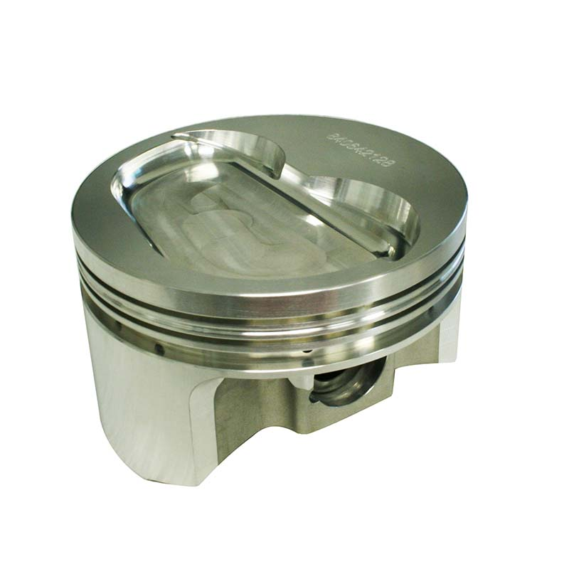 Pro Max Pistons; Chevy 262-400 2618 Forged 23 Degree Inverted Dome -5.0cc Howards Cams 840642128L 840642128L