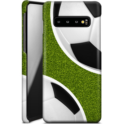 Samsung Galaxy S10 Smartphone Huelle - Two Footballs von caseable Designs