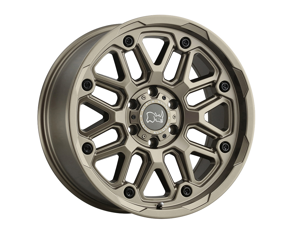 Black Rhino Hollister Wheel 17x9.5  6x139.7 12mm Bronze
