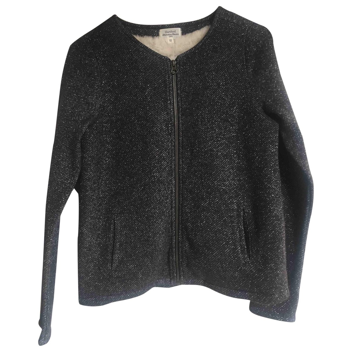 Hartford - Veste   pour femme en coton - gris