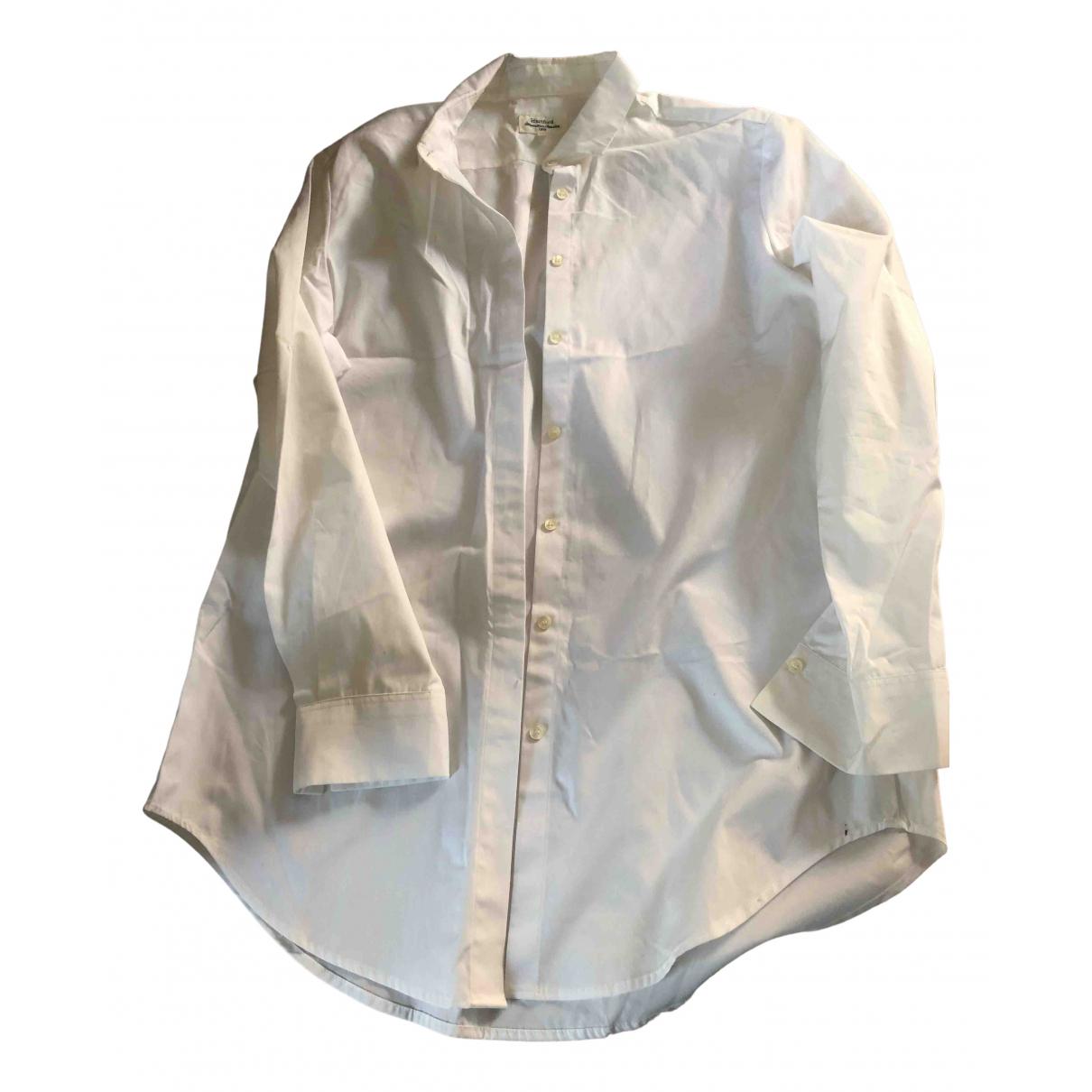 Hartford - Top   pour femme en coton - blanc