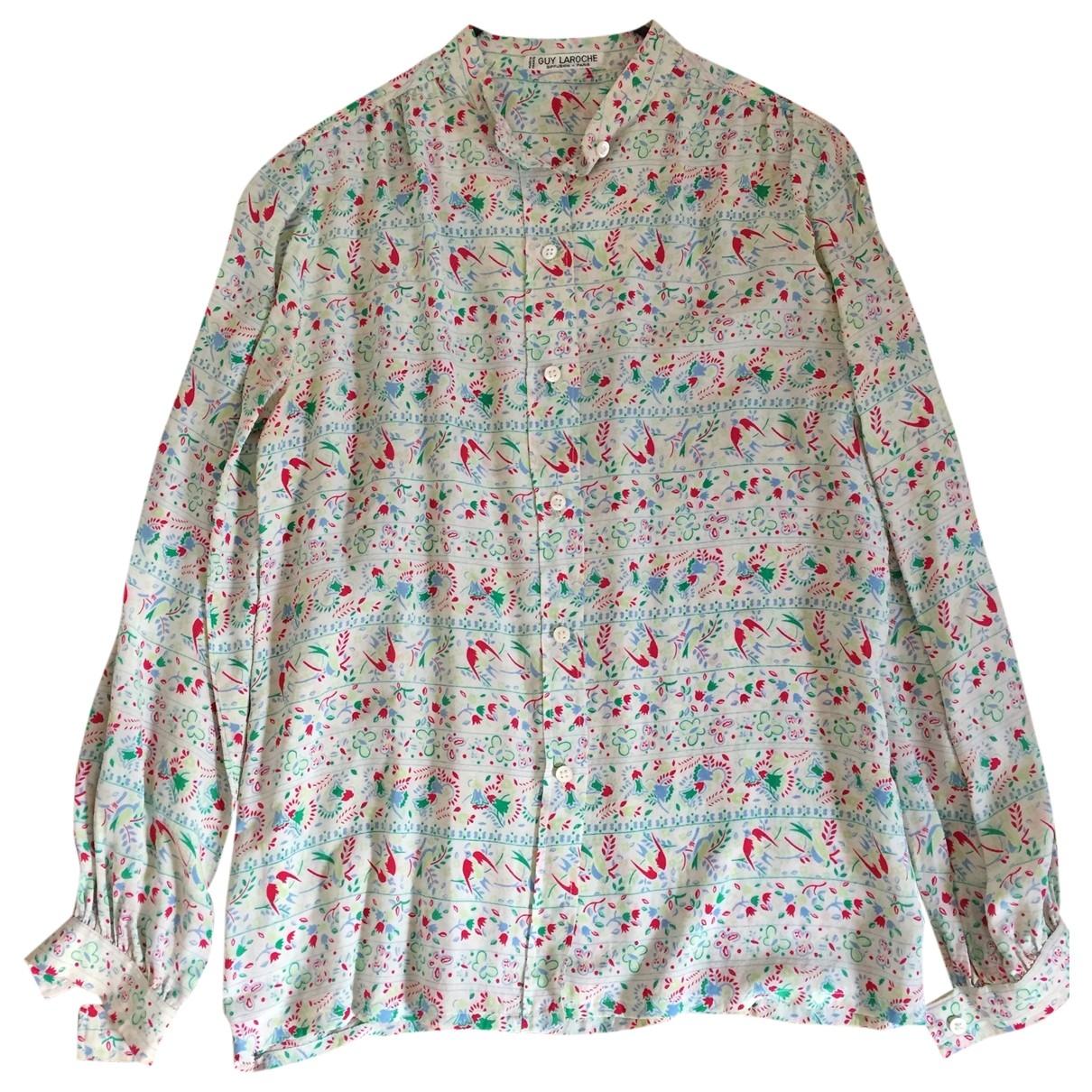 Camisa de Seda Guy Laroche